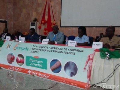 Côte d'Ivoire: Les fractures ouvertes au centre des échanges du 6ème  congrès de la SIVCOT de Grand-Bassam