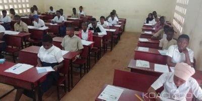 Côte d'Ivoire : Abengourou, fraude au BEPC, une candidate et un professeur mis aux arrêts dans le centre du lycée moderne 1