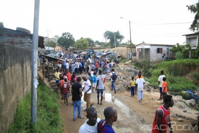 Côte d'Ivoire : A Anyama, 5 jeunes tentant de traverser une rue inondée emportés par des torrents d'eau, un retrouvé mort