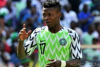 Nigeria : CAN 2019, le joueur Samuel Kalu sauvé, un remplaçant en attente
