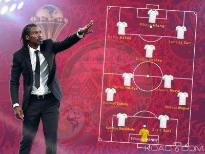 Sénégal : Can 2019, le onze probable de Aliou Cissé pour l'entrée en lice des Lions face à la Tanzanie