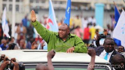 RDC: Retour timide de l'opposant Jean Pierre Bemba  à Kinshasa