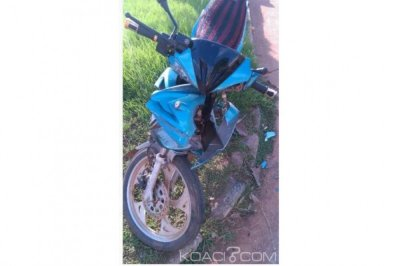 Côte d'Ivoire: Visite de Kandia à Gagnoa, un cargo de police percute violemment un motocycliste