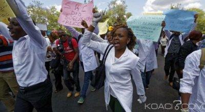 RDC: Des médecins en colère brutalement dispersés à Kinshasa