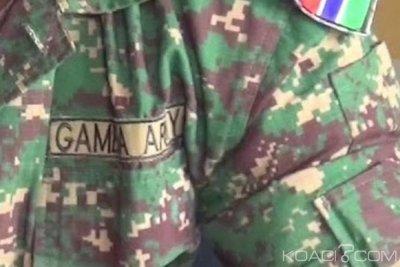 Gambie: Six soldats arrêtés, deux autres en fuite