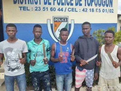 Côte d'Ivoire: 05 enfants microbes arrêtés par la police à Yopougon