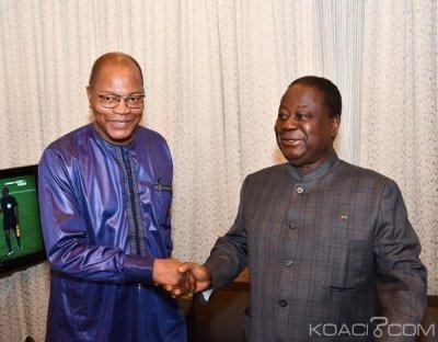 Côte d'Ivoire : Ibn Chambas chez Bédié pour des élections pacifiques, libres et transparentes en 2020