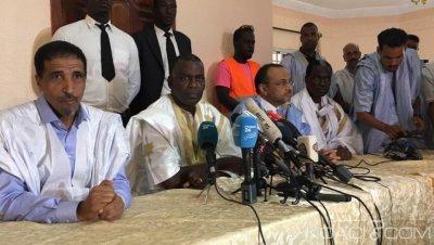 Mauritanie: Unie, l'opposition accuse le pouvoir de « hold-up électoral» mais annule sa marche prévue jeudi