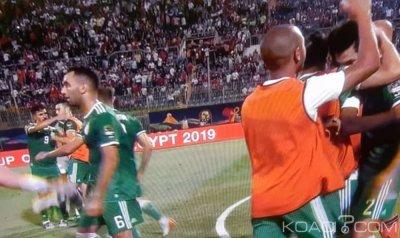 CAN 2019: L'Algérie domine 1 à 0 le Sénégal et se qualifie pour les 8ème de finale