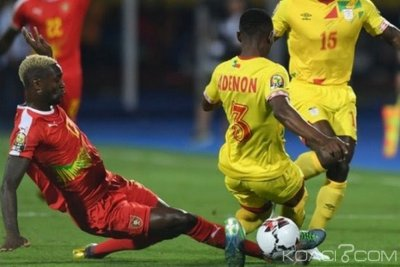 Egypte : CAN 2019, match nul entre le Bénin et la Guinée-Bissau 0-0