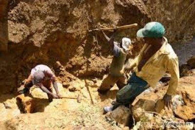 RDC: 43 creuseurs clandestins au moins périssent dans l'effondrement d'une mine de cobalt