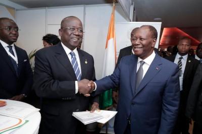 Côte d'Ivoire : Présidentielle de 2020, Ouattara aux responsables du RHDP : «Nous all...