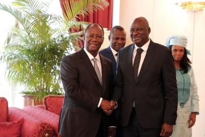 Côte d'Ivoire: Les entretiens du Chef de l'Etat avec la Directrice des opérations de...