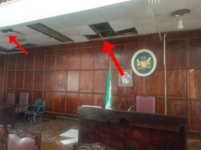 Nigeria: Un serpent crée la panique  au sein d'un parlement