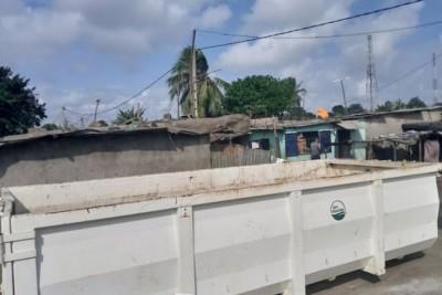 Côte d'Ivoire : Suite à notre interpellation, enfin une poubelle pour Yaossehi