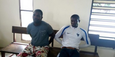 Côte d'Ivoire: A Tiassalé, deux redoutables braqueurs condamnés à 20 ans de prison