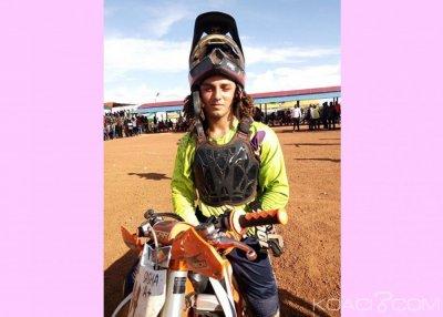 Burkina Faso : L'ivoirien Sacha Vigneron remporte le premier prix international de motocross