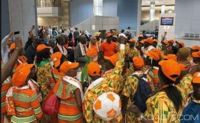 CAN 2019 : Les supporters ivoiriens assisteront au match contre la Namibie avec leurs bagages