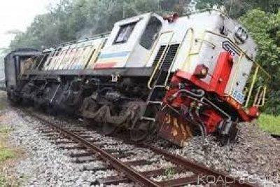 Congo: 13 victimes dans la collision entre deux trains près de Pointe-Noire