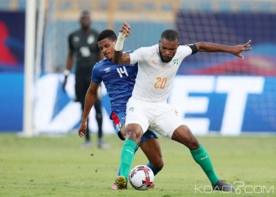 CAN 2019 : Serey Dié désigné homme du match par la CAF contre la Namibie