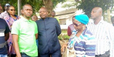 Côte d'Ivoire : Après son meeting  d'Adzopé, Valentin Kouassi de la JPDCI entendu à la brigade de recherche et placé en garde à vue pour enquête