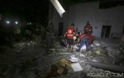 Nigeria-Libye: Neuf nigérians parmi les victimes du bombardement d'un camp de migrants près de Tripoli