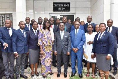 Côte d'Ivoire : ENA, le ministre de la Santé et de l'Hygiène Publique instruit la 53ème promotion sur le Plan national de développement sanitaire 2016-2020