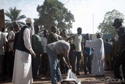 Centrafrique:  Affrontements au PK5  suite à une affaire de racket , une dizaine de blessés