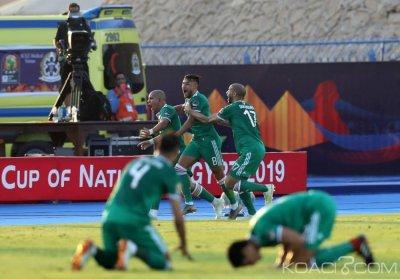 CAN 2019 : La Côte d'Ivoire éliminée aux pénaltys par l'Algérie qui va en demi-finale contre le Nigeria