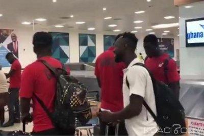 Ghana : Retour des Black Stars à Accra après leur élimination à la CAN 2019