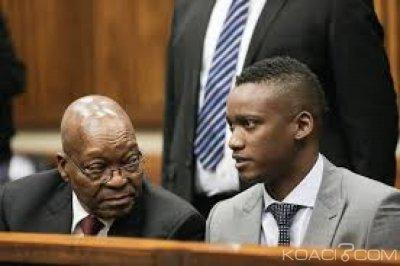 Afrique du Sud:  Le fils de Zuma relaxé dans une affaire d'homicide involontaire