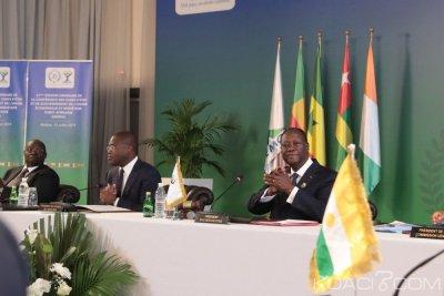 Côte d'Ivoire : UEMOA, fin de la 21ème session ordinaire,  Ouattara rassurant : «il n'y aura pas de changement de parité entre le FCFA devenu Eco et l'Euro »