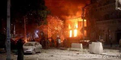 Somalie: 26 morts et 56 blessés dans l'attaque d'un hôtel par des islamistes d'Al Shabab