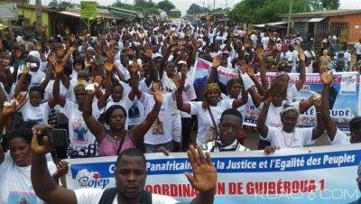 Côte d'Ivoire : A Guibéroua, le Cojep de Blé Goudé mobilise pour son congrès d'août prochain