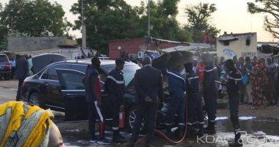 Sénégal: La limousine présidentielle prend feu avec Macky Sall et IBK à son bord, ce qui s'est passé