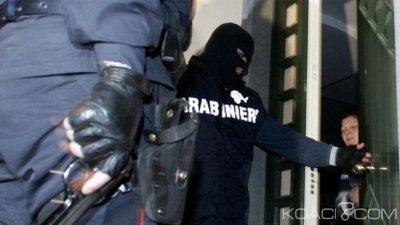 Nigeria-Italie: Un clan mafieux nigérian démantelé par la police