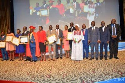 Côte d'Ivoire : Les lauréats de la 18ème édition du prix d'excellence de la Direction générale des Impôts connus