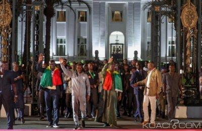 Sénégal: Vice-champions d'Afrique, les Lions accueillis par des milliers de personn...