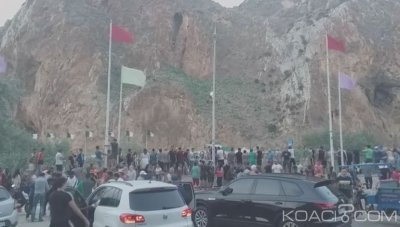 CAN 2019: La joie des marocains là¢chement bafouée par les responsables algéro-polisariens lors du sacre algérien à Laà¢youne, ville du Sahara marocain ?