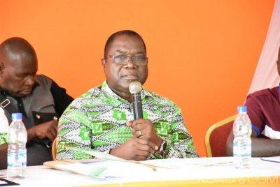 Côte d'Ivoire: Paul Kra martèle «nous sommes en train d'être envahis, notre pays est en train de nous échapper», il engage les militants du PDCI à se mettre en ordre de bataille
