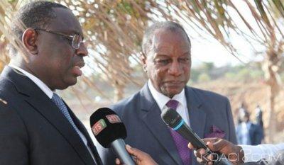 Sénégal - Guinée: Meurtre de Mamadou Barry en France, Macky Sall et Alpha Condé conda...