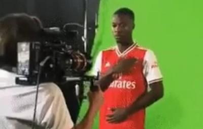 Côte d'Ivoire : Pierre-Emerick Aubameyang espère que Nicolas Pépé va signer au plus vite à Arsenal