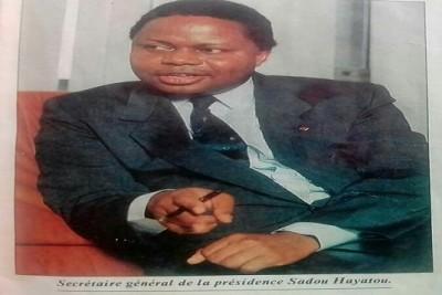Cameroun: Décès à Genève de Sadou Hayatou, ancien PM des années de braise et frère d'Issa Hayatou