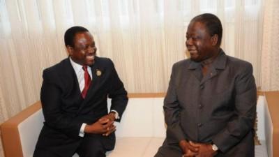 Côte d'Ivoire: Depuis Paris, Bédié prévoit une plateforme avec Gbagbo qui n'exclurait pas Soro