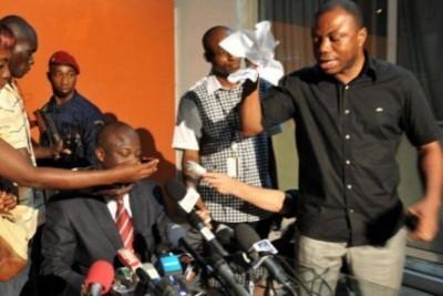 Côte d'Ivoire: Déchirer les résultats des élections à la télé ne fait pas de Pickass quelqu'un qui partageait  l'intention de commettre des crimes ...