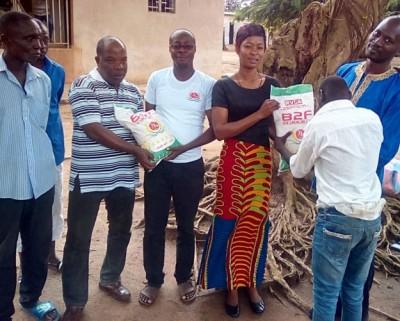 Côte d'Ivoire : Bouaké, en plus du don de riz fait par une entreprise, le responsable du centre Saint Camille appelle à l'aide