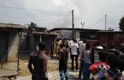 Côte d'Ivoire: Une jeune fille meurt calcinée dans l'explosion d'une bouteille de gaz
