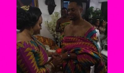 Ghana : Mariage de la ministre Sarah Safo avec Mouhtiseb