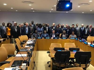 Côte d'Ivoire-USA : Suite à une demande d'extension de son plateau continental, Adama Toungara représentant le pays prend part à la CLPC
