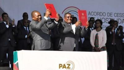 Mozambique:   Le Renamo signe un accord de paix historique,  27 ans après la guerre c...